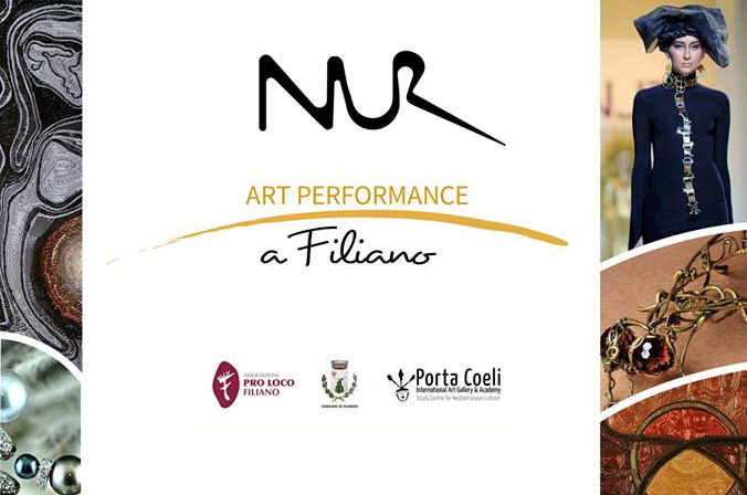 Arman NUR a Palazzo Corbo in Performance
